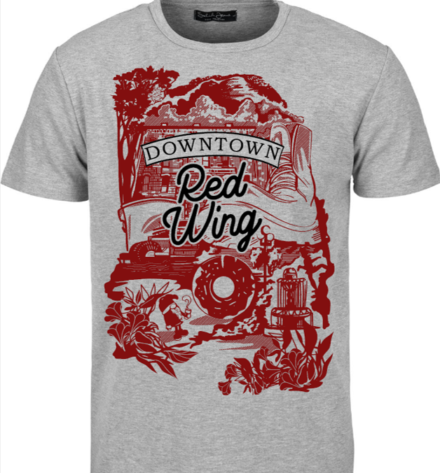 Downtown Red Wing T Shirt Design Voting Red Wing Downtown Main Street
